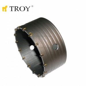 Боркорона за бетон с диамантено покритие, Ø 100 mm Troy