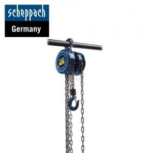 Верижна лебедка CB02 Scheppach 2 т