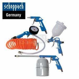 Комплект пневматични накрайници Scheppach 5 броя