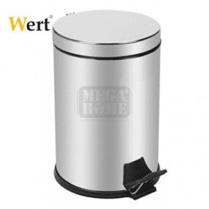 Метално кошче за отпадъци с педал, 30 л Wert