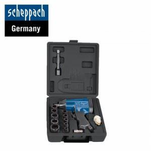 К-т пневматичен гайковерт с вложки и аксесоари 1/2 Scheppach