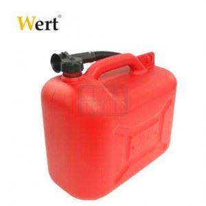 Пластмасова туба за гориво 5 л Wert