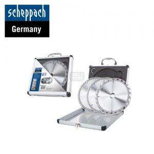 Комплект циркулярни дискове 3 броя Scheppach диаметър 210 мм