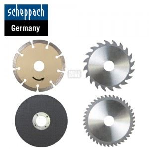 Комплект от 4 циркулярни диска за циркуляр PL305 Scheppach
