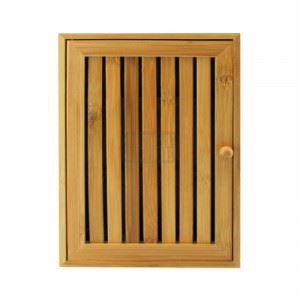 Бамбукова кутия за ключове с 8 поставки KINZO
