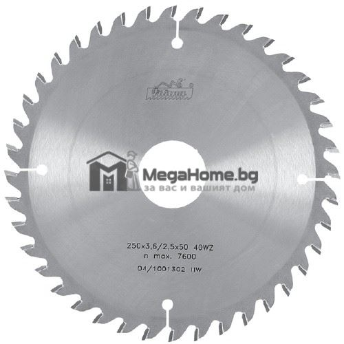 Циркулярен HM диск за дърво Pilana 300 мм х 30 мм z48
