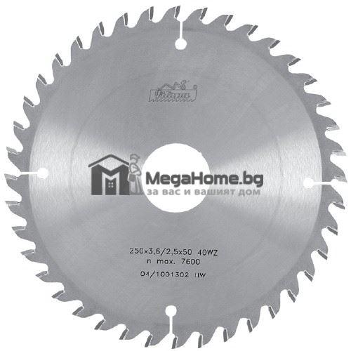 Циркулярен HM диск за дърво Pilana 300 мм х 30 мм z64