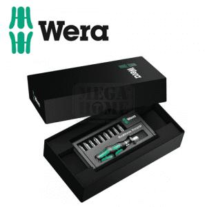 Комплект битове и ръкохватка Kraftform Kompakt 13 WERA
