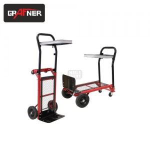 Ръчна транспортна количка Grafner капацитет 200 / 80 кг