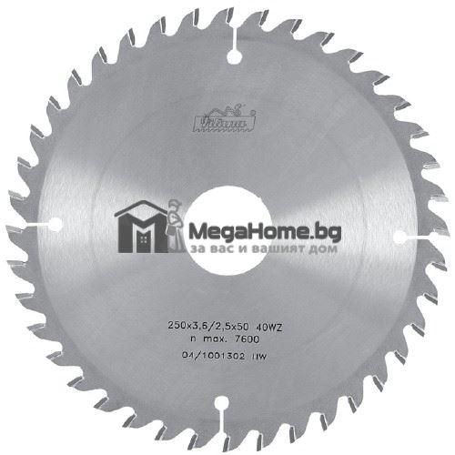 Циркулярен HM диск за дърво 300 мм х 30 мм z24 Pilana