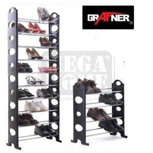Стелаж за обувки 10 реда Grafner SR 10165