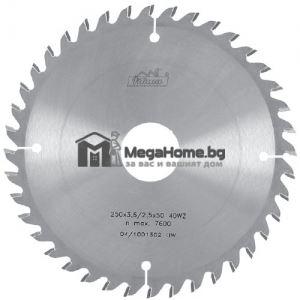 Циркулярен HM диск за дърво 500 мм х 30 мм z40 Pilana