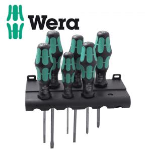 Комплект отвертки Kraftform Plus, 6 бр. WERA