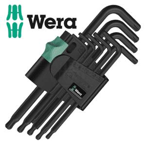 Професионални Г-образни ключове тип ТОРКС, 9 бр. WERA
