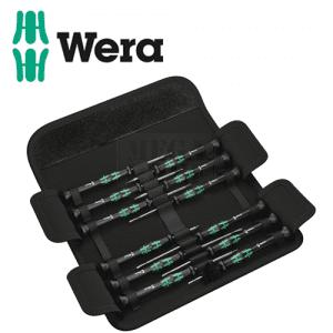 Комплект прецизни oтвертки Kraftform, 12 бр WERA