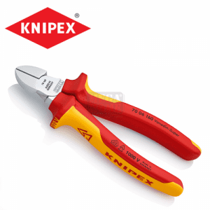Изолирани клещи, странични резачки VDE 160 мм KNIPEX