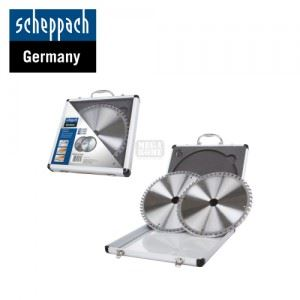 Комплект циркулярни дискове 2 броя Scheppach диаметър 254 мм