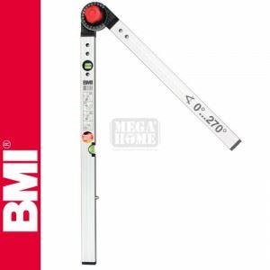 Нивелир алуминиев с протрактор, 60/120cm BMI
