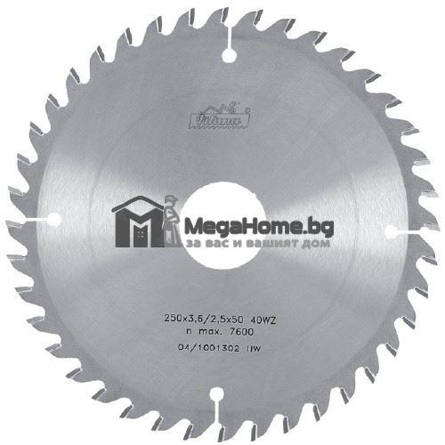 Циркулярен HM диск за дърво 400 мм х 30 мм z 32 Pilana