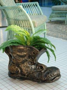 Саксия Рото Обувка голяма L 550 x 300 x 340 мм