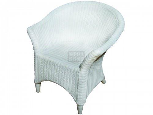 Стол Рото бамбук бял 630 x 700 x 780 мм