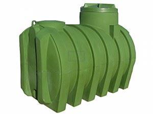 Резервоар за вкопаване Рото 2500 л