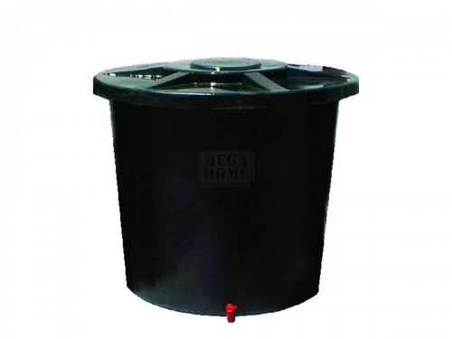 Полиетиленов съд тип бидон с голям отвор Рото 500 - 1000 л