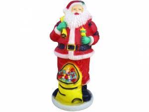 Светеща фигура Рото Дядо Коледа макси XL