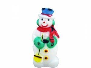 Светеща фигура Рото Снежен човек среден М