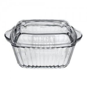 Стъклена купа за печене с капак Pasabahce, 1 л Borcam