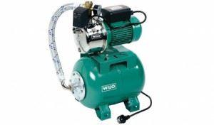 Уредба хидрофорна с цилиндричен съд HWJ 202 X EM 24 L Wilo