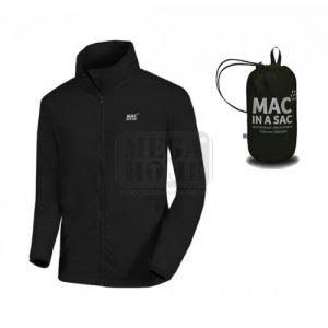 Водоустойчиво яке ORIGIN JET BLACK, черно Mac in a Sac