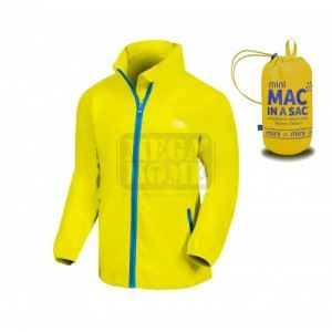 Детско водоустойчиво яке ORIGIN SUN GLOW, жълто Mac in a Sac