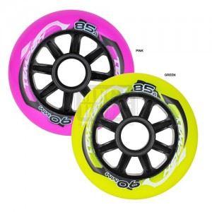 Колела за ролери комплект 4 бр Tempish Radical Color 90 x 24 84A