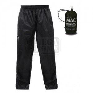 Детски водоустойчив панталон KIDS ORIGIN, черен MAC IN A SAC