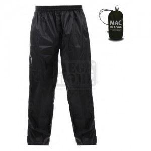 Водоустойчив панталон ORIGIN, черен MAC IN A SAC