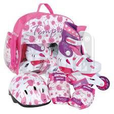 Детски регулируеми ролери Tempish Ufo Baby Skate Set pink