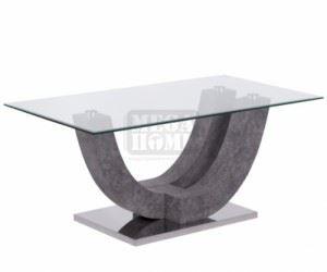 Холна маса Carmen Oval графит
