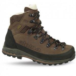 Зимни туристически обувки NEPAL BROWN ALPINA