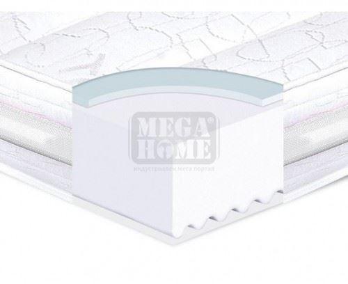 Двулицев матрак Ted Memory Silver Flex 82 - 164 х 190