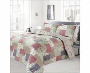 Спален памучен комплект с модерен дизайн Ted Patchwork 4 - 5 ч