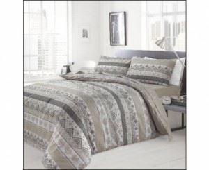 Спален памучен комплект с модерен дизайн Ted Натур Сканди 4-5 ч
