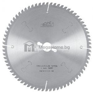 Диск циркулярен HM за алуминий  400 мм x 30 мм Pilana