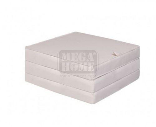 Тройно сгъваем матрак Ted Футон 60 х 190 х 8 см