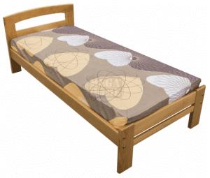 Легло от масив Flexible Тива натурален 82 - 180 х 190 - 200