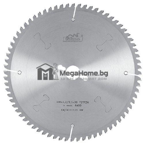 Диск циркулярен HM за алуминий  180 мм x 30 мм Pilana