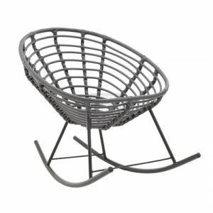 Люлеещ стол плетен Inart