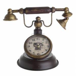 """Ретро часовник \""""Телефон\"""", 31 см Inart"""