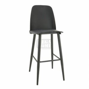 Бар стол с облегалка Inart