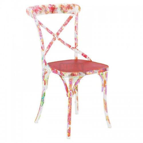 Метален стол Inart 3-50-410-0002